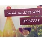 Tischreservierung Weinfest 30.08.2019 + 31.08.2019