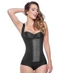 Ann Michell Sport Full Vest Latex 3 Hooks Zwart