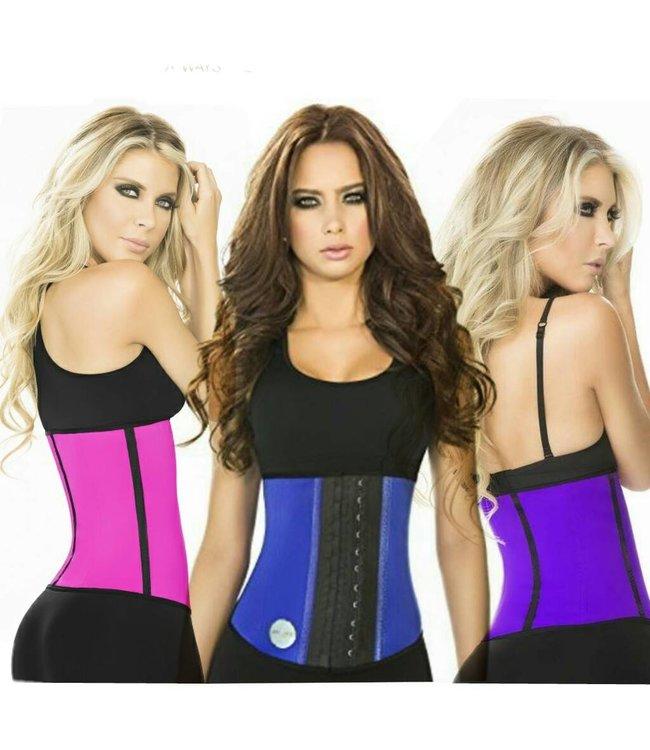 Ann Chery Sport Latex 2 Hooks Paars / Roze / Blauw