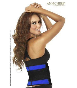 Ann Chery Latex Fitness Belt Blue