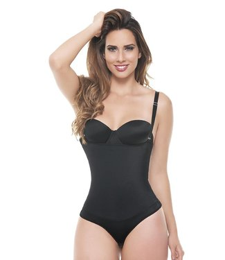 Ann Michell Thong Body Latex & Lycra 5054 Black