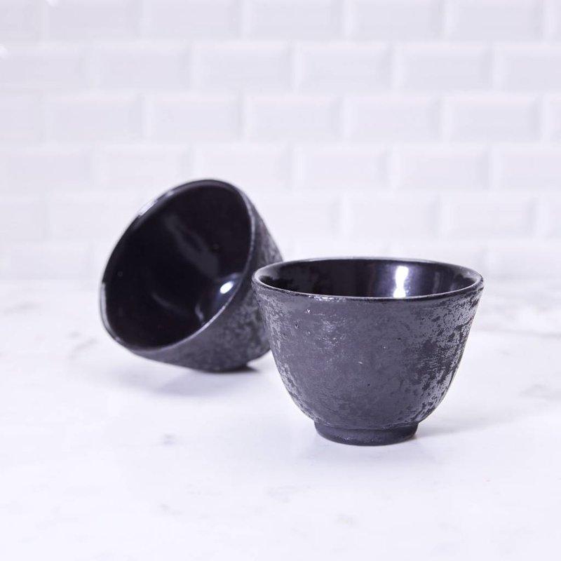 Cast iron tea cup