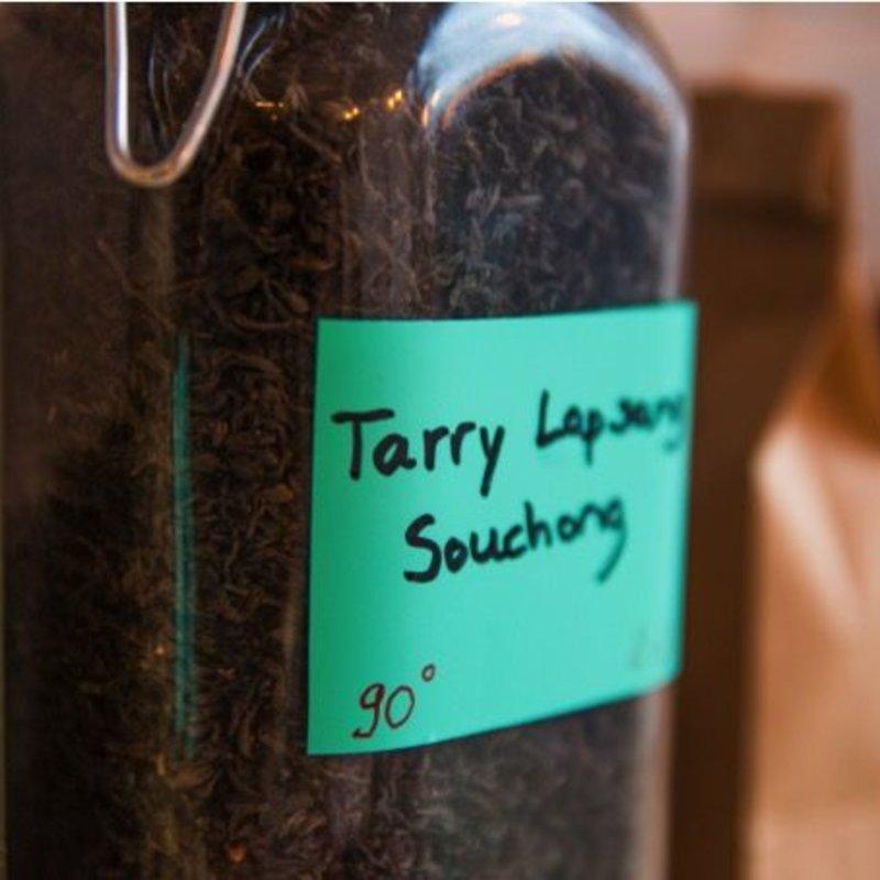Tarry Lapsang Souchong - Intense smokiness