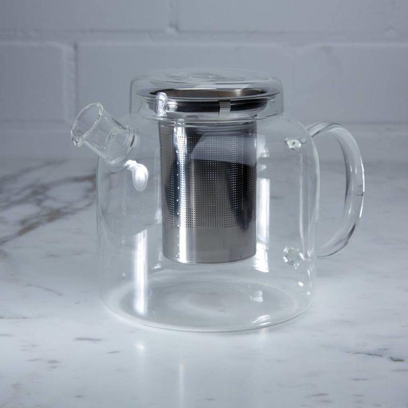 Glazen theepot met filter - Assam
