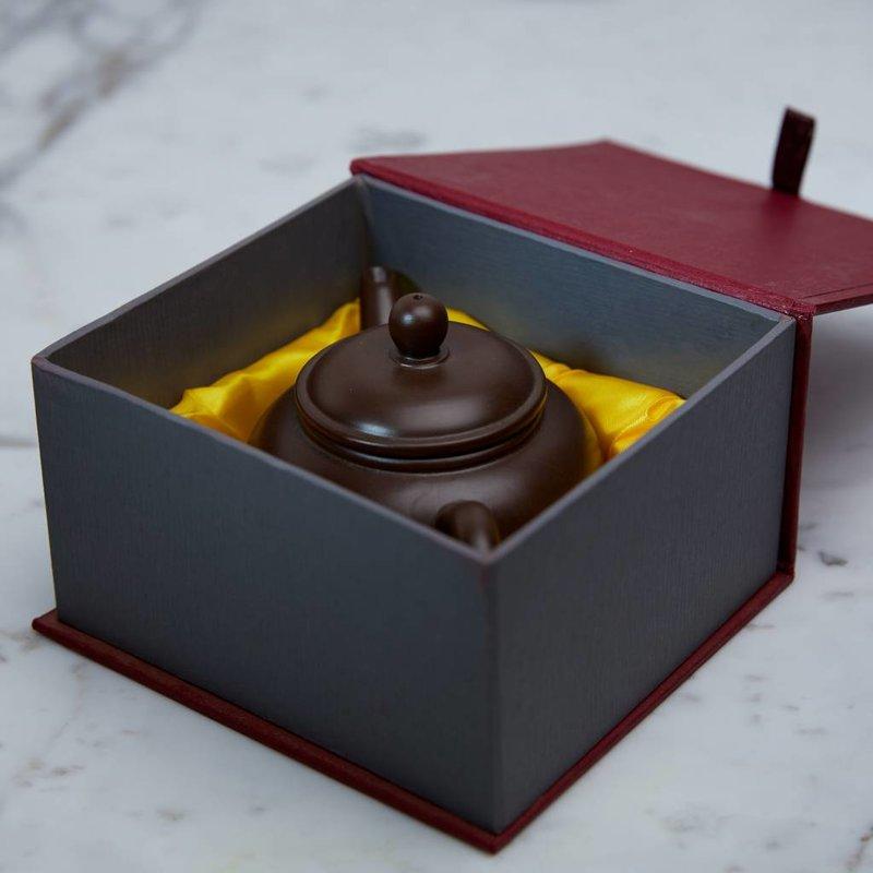 Yixing theepot van klei