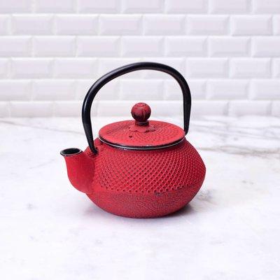 Cast iron Tetsubin - Original Red