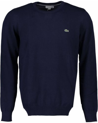 Lacoste Knit Sweater Navy
