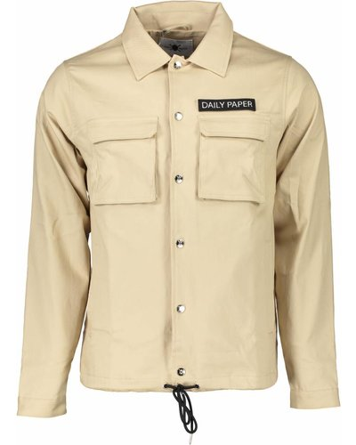 Daily Paper Coach Jacket Beige