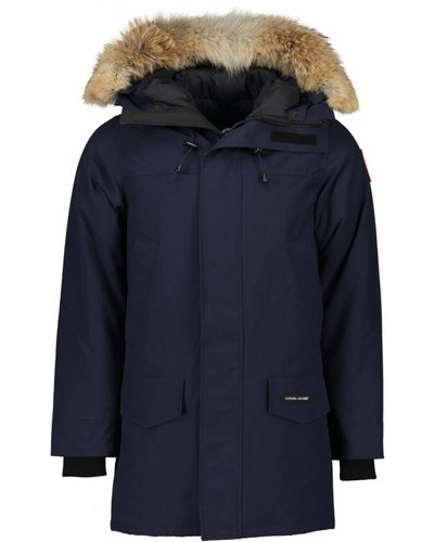 Canada Goose Langford Parka Blauw-Admiral