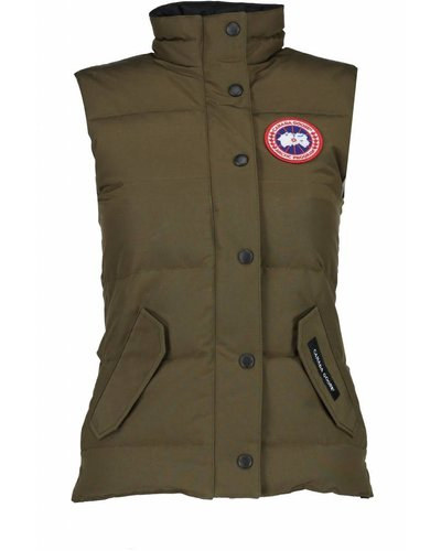 Canada Goose Freestyle Bodywarmer Army Green