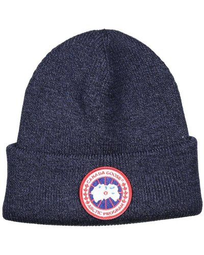 Canada Goose Artic Disc Toque Hat Navy