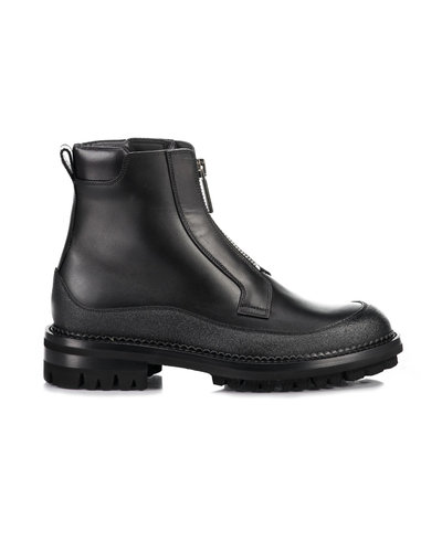 Dsquared2 Zip Boots Zwart