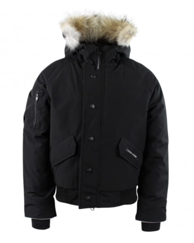 Canada Goose Kids Rundle bomber Black