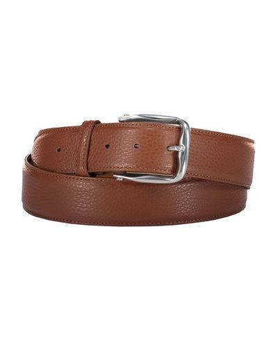 D'Amico Leather Belt Cognac