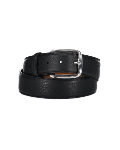 D'Amico Leather Belt Black