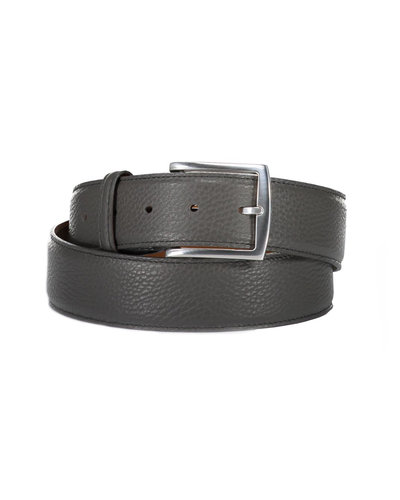 D'Amico Leather Belt Grey