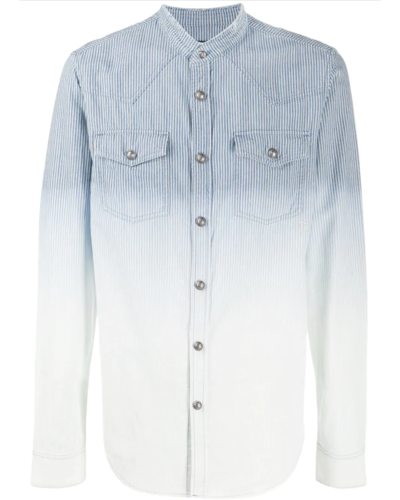 Balmain  Dyeing Denim Shirt