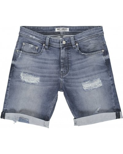 Just Junkies Mike Short Blauw