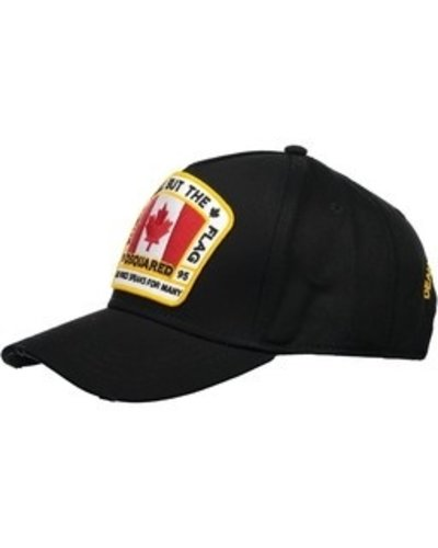 Dsquared2 All But The Flag Cap Schwarz