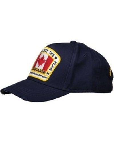 Dsquared2 All But The Flag Cap Navy