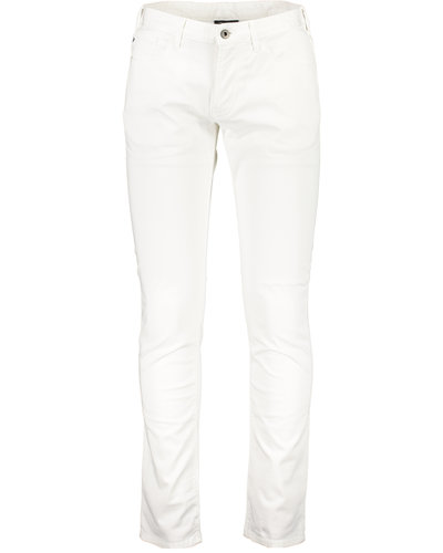 Armani 5 Pocket Broek Wit