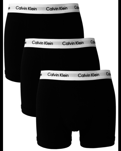 Calvin Klein 3-pack Trunks Zwart Wit