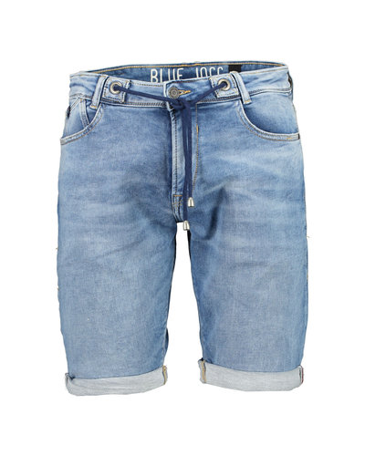 Japan Rags Jogg Short Blauw