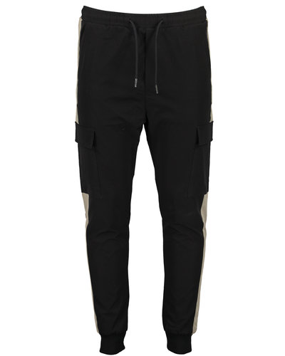Just Junkies Oliver Cargo Pants Zwart/Army