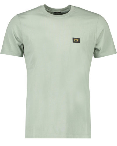 Denham Applique T-shirt Groen
