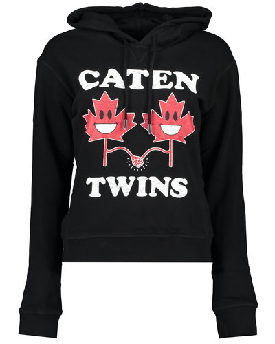 Dsquared2 Caten Twins Hoodie Scwharz