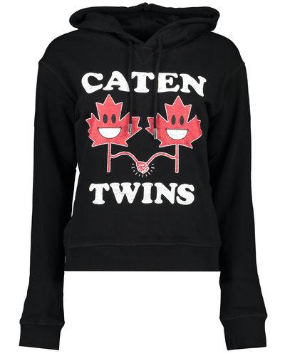 Dsquared2 Caten Twins Hoodie Zwart
