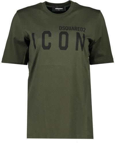 Dsquared2 Icon T-shirt Armee Grün