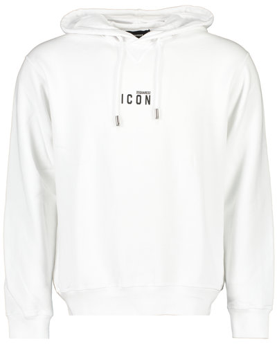 Dsquared2 Icon Hoodie Wit
