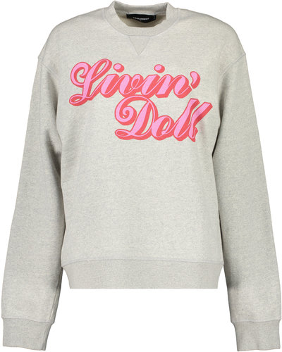 Dsquared2 Living Doll Sweater Grijs