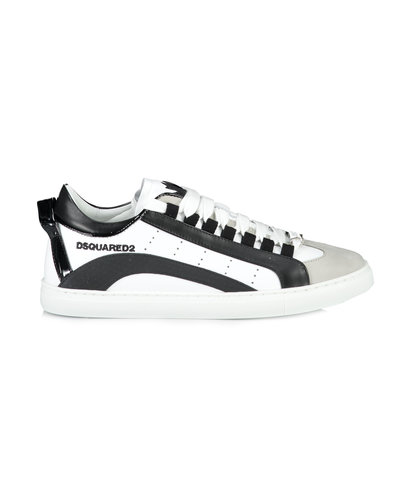 Dsquared2 Sneakers Low Sole Wit/zwart