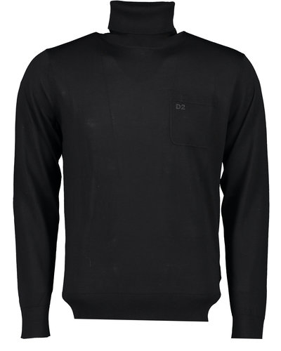 Dsquared2 Turtleneck Schwarz
