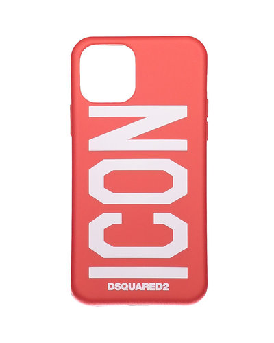 Dsquared2 Iphone 11 Case Pro Rood/Wit