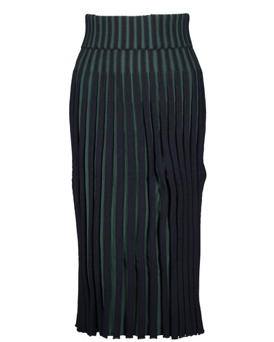 Kenzo Pleated Skirt Blue