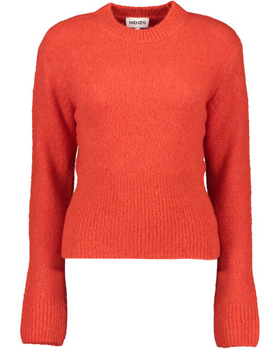 Kenzo Wool Recycled Jumper Red