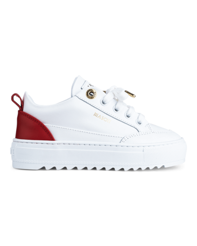 Mason Garments Kids  Tia Sneaker White/Red