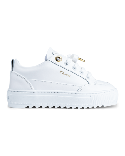 Mason Garments Kids  Tia Sneaker White