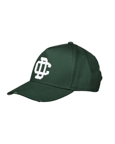 Dsquared2 DC Cap Dark Green/White