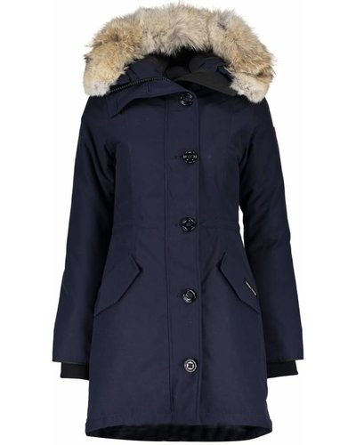 Canada Goose Rossclair Parka Navy