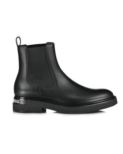 Dsquared2 Ankle Boots Schwarz