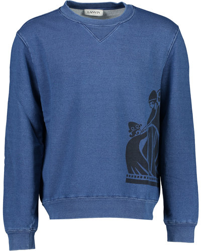 Lanvin Paris Mother & Daughter Sweater Marine