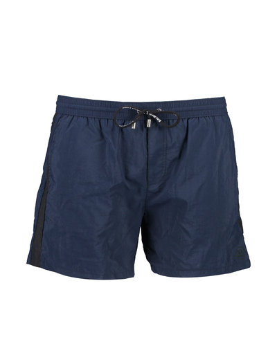 Balmain  Logo Embroidery Swim Shorts Marine