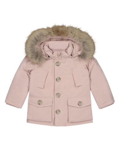 Woolrich Kids My First Parka Pink