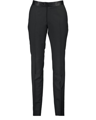 Lanvin Paris Trousers Zwart
