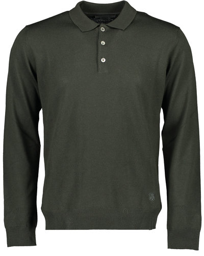 Corneliani Polo Knitwear Sweater Groen