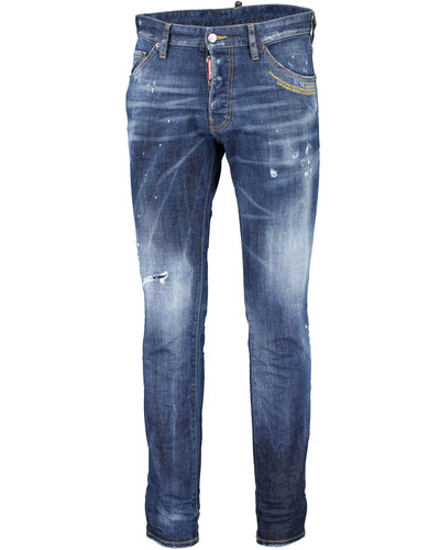 Dsquared2 Galaxy Dark Wash Cool Guy Jeans Blue